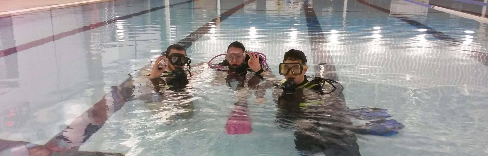 Blackpools premier scuba diving club for Palatine swimming pool blackpool